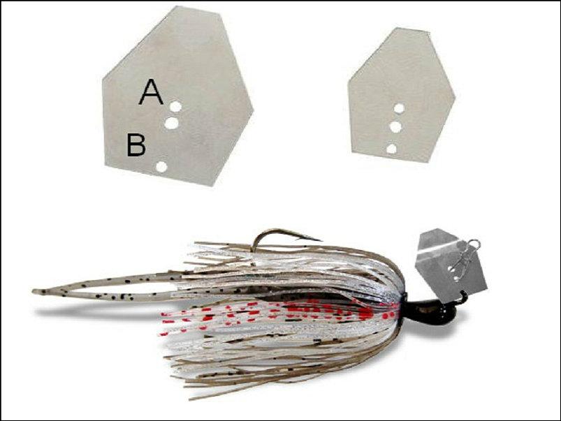 Chatterbait onderdelen