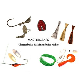Masterclass 'Chatterbaits & Spinnerbaits Maken'